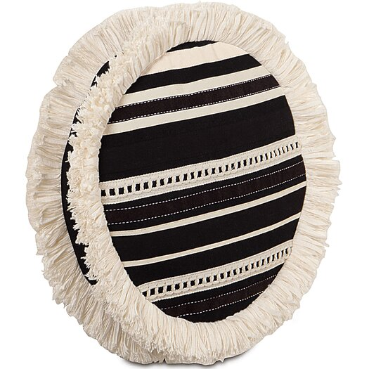 Eastern Accents Evelyn Fullerton Ink Tambourine Throw Pillow