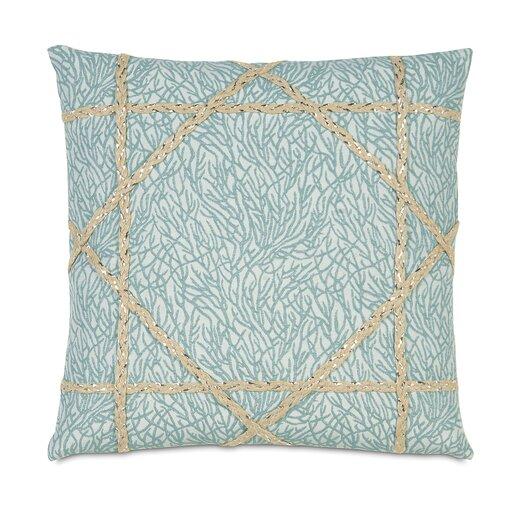 Eastern Accents Coastal Tidings Coastal Weaving Throw Pillow