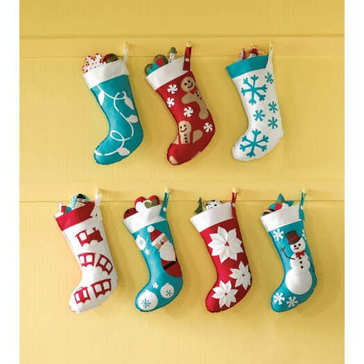 Eastern Accents North Pole Choo Choo Christmas Stocking