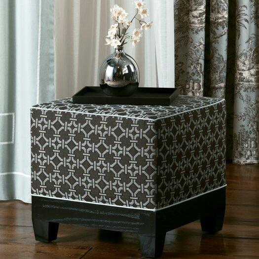 Eastern Accents Vera Cube Ottoman