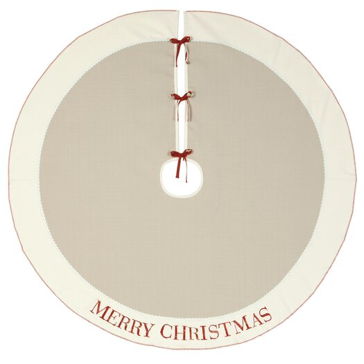 Eastern Accents Nordic Holiday God Jul Tree Skirt