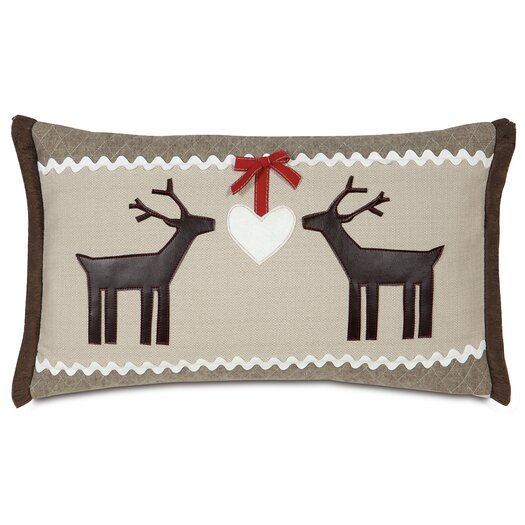 Eastern Accents Nordic Holiday Folk Love Lumbar Pillow