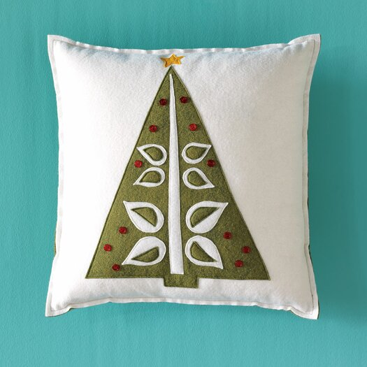 Eastern Accents North Pole O Christmas Tree Throw Pillow