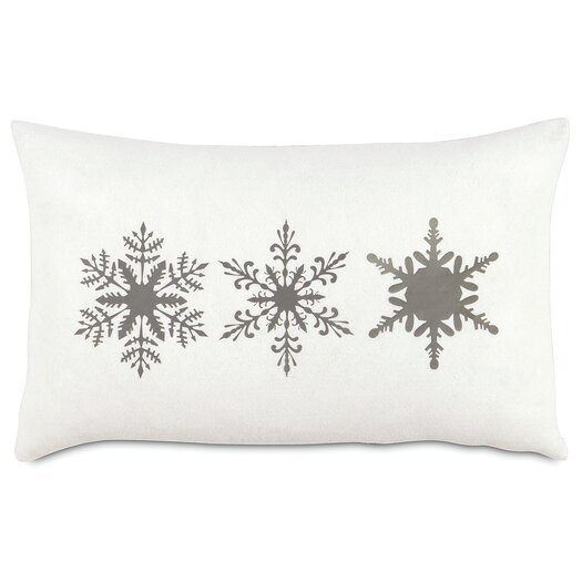 Eastern Accents Dreaming of a White Christmas Dreamsicle Lumbar Pillow