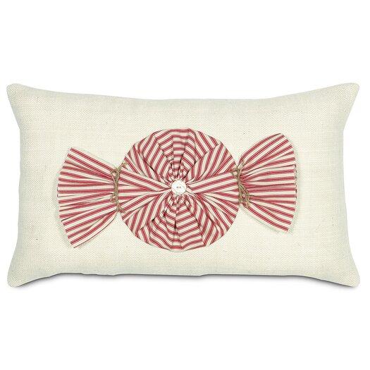 Eastern Accents Fa La La Peppermint Twist Lumbar Pillow