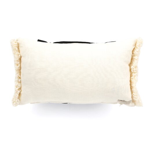 Eastern Accents Evelyn Fullerton Ink Ruched Insert Decorative Throw Pillow