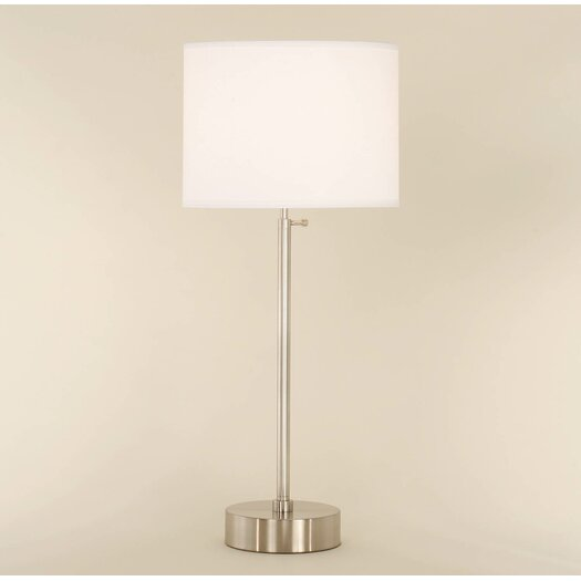 "Lights Up! Cancan 34"" H Table Lamp with Drum Shade"