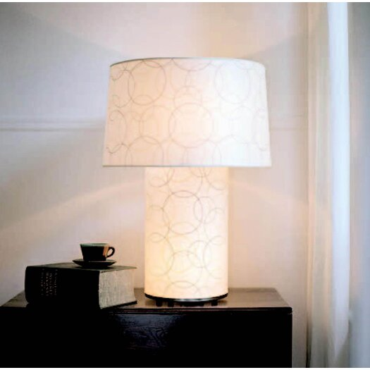 "Lights Up! Mombo Grande 32"" H Table Lamp with Empire Shade"