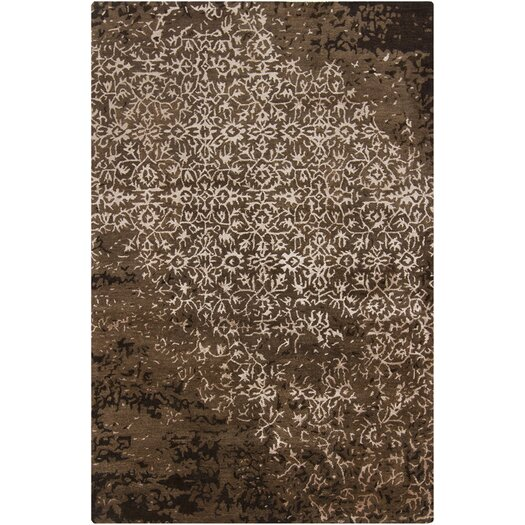 Chandra Rugs Rupec Brown Abstract Area Rug