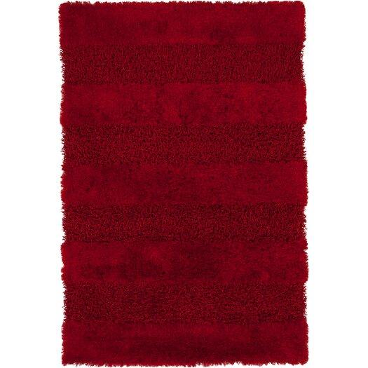 Chandra Rugs Tivid Red Area Rug