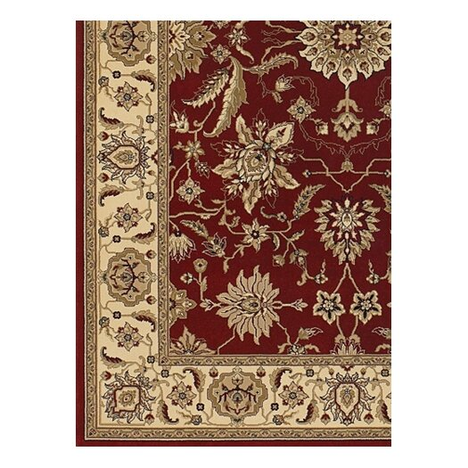 Chandra Rugs Diamond Red Area Rug