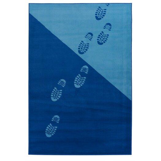 Chandra Rugs Dersh Footprint Novelty Area Rug
