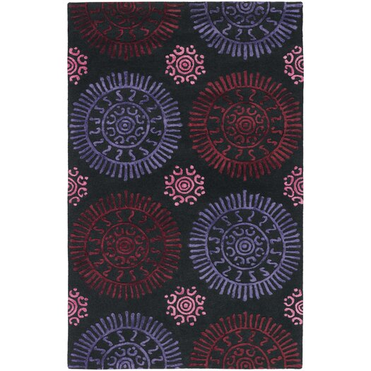 Chandra Rugs Stanton Red Area Rug
