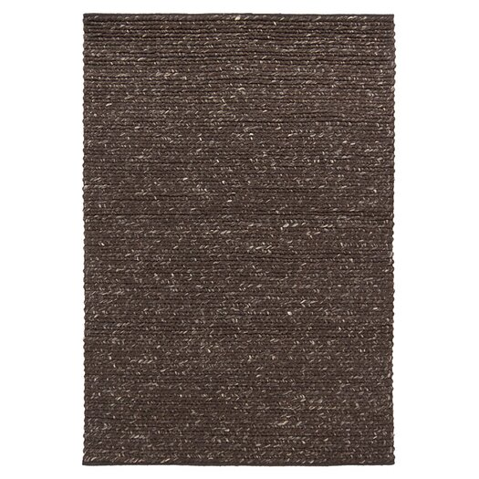 Chandra Rugs Valencia Dark Brown Area Rug