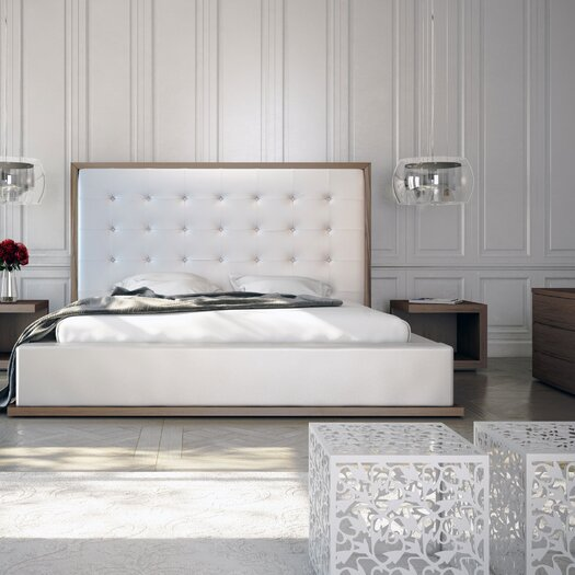 Modloft Ludlow Upholstered Panel Bed