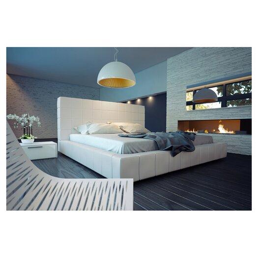 Modloft Thompson Upholstered Panel Bed