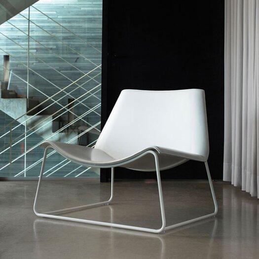 Modloft Earl Leather Lounge Chair