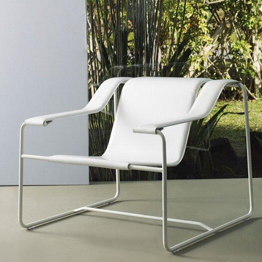 Modloft Frederick Leather Lounge Chair