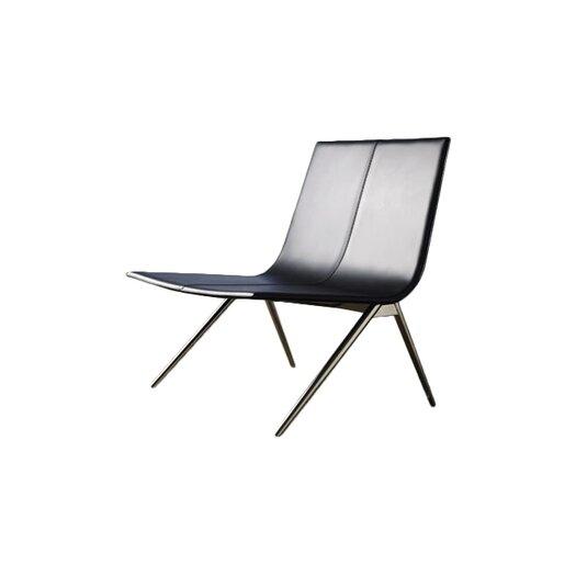 Modloft Mayfair Leather Lounge Chair