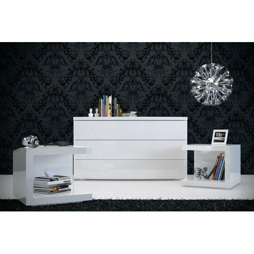 Modloft Ludlow 3 Drawer Dresser
