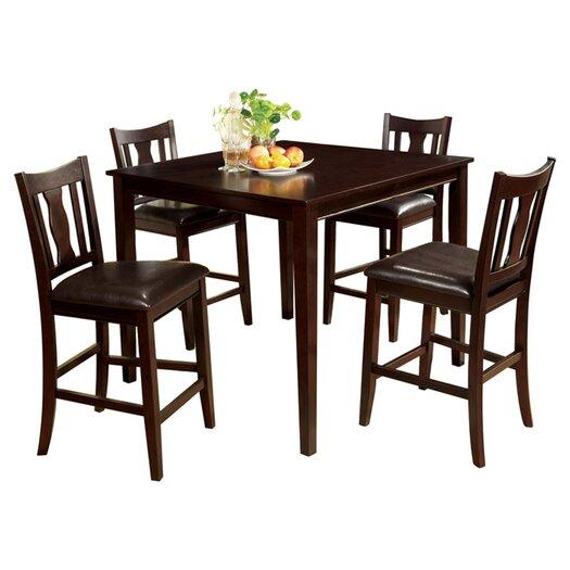 Hokku Designs Petite 5 Piece Counter Height Dining Set  : Petite2B52BPiece2BCounter2BHeight2BDining2BSet from allmodern.com size 525 x 525 jpeg 35kB
