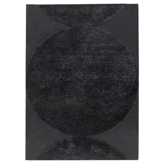 Hokku Designs Onord Black Area Rug
