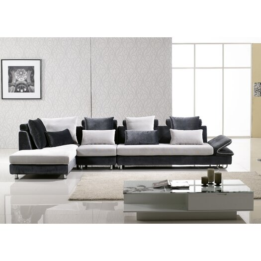 Hokku Designs Uptown Left Hand Facing Sectional