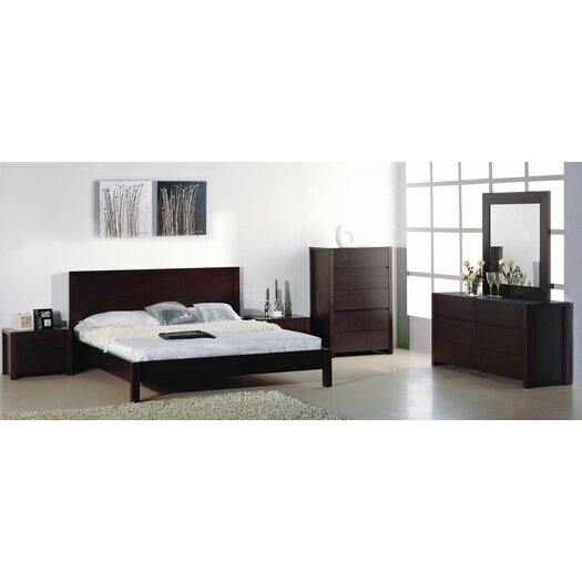 Hokku Designs Etch Platform Customizable Bedroom Set