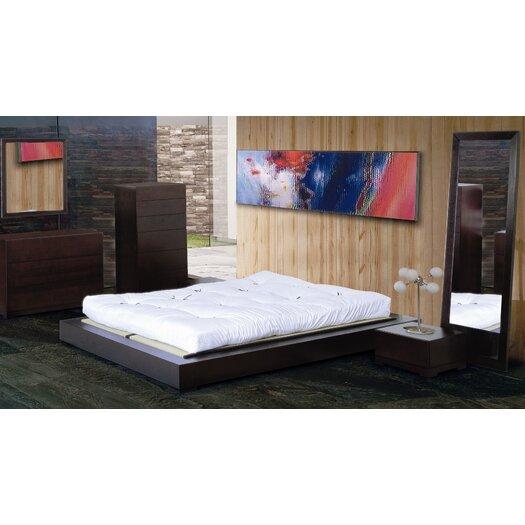 Hokku Designs Zen Platform Customizable Bedroom Set