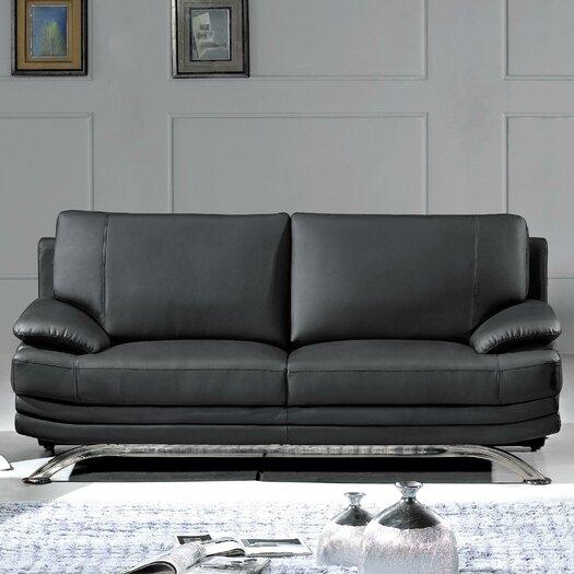 Hokku Designs Phoenix Leather Sofa