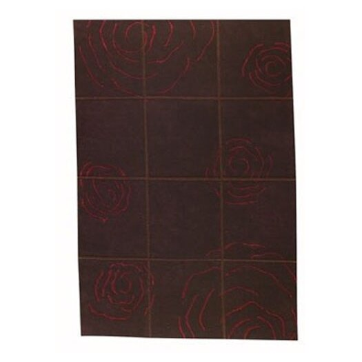Hokku Designs Mat The Basics Rose Red Area Rug