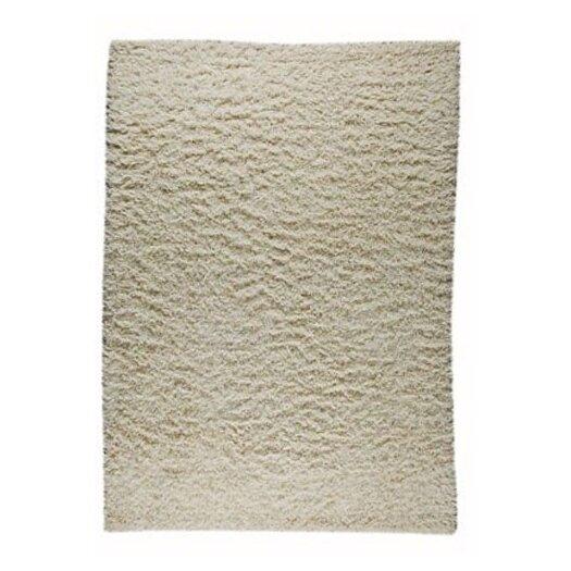 Hokku Designs Howzen Mix White Solid Area Rug