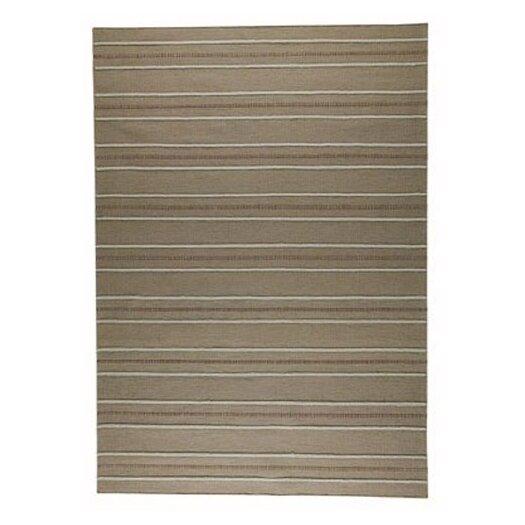 Hokku Designs Savannah Striped Beige Area Rug