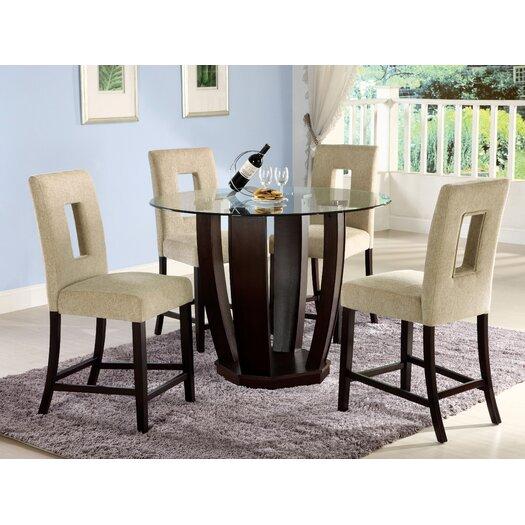 Hokku Designs Catina 5 Piece Counter Height Dining Set