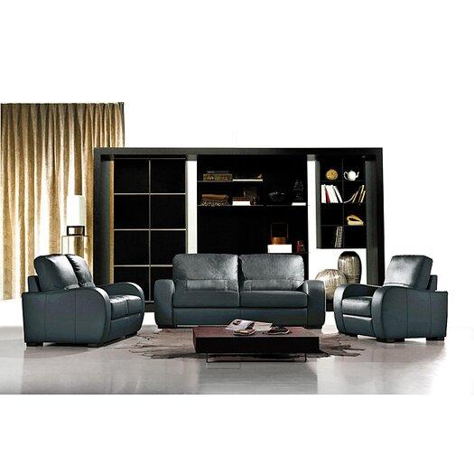 Hokku Designs Cardiff Leather 3-Piece Set