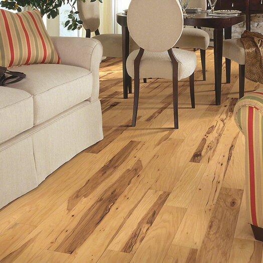 "Shaw Floors Jubilee 5"" Engineered Hickory Hardwood Flooring in Honey Spice"