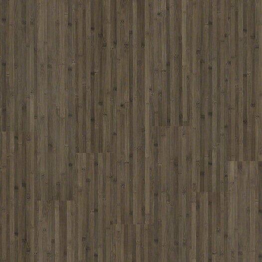 "Shaw Floors Natural Impact 8"" x 48"" x 7.94mm Bamboo Laminate in Smoked Bamboo"