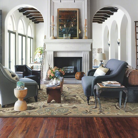 """Shaw Floors Grand Canyon 8"""" Solid Hickory Hardwood Flooring in Plateau Point"""