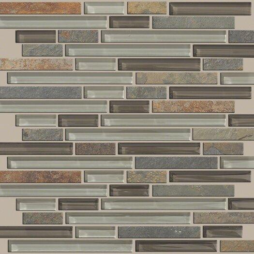 Shaw Floors Mixed Up Random Sized Slate Mosaic Tile in Pikes Peak