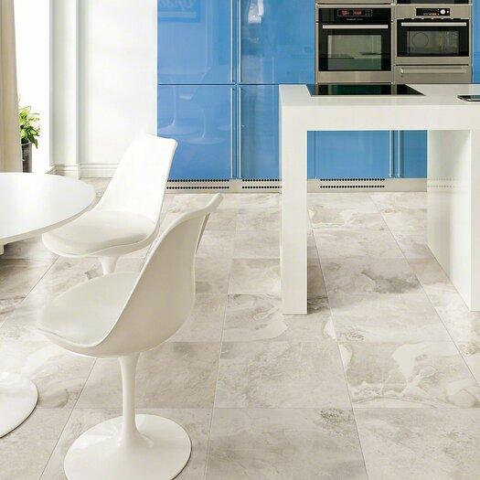 "Shaw Floors Metropolitan 6"" x 6"" Porcelain Field Tile in Silver Lake"