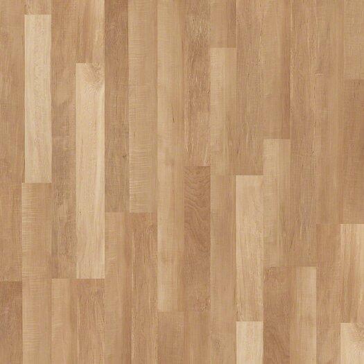 "Shaw Floors Landscapes Plus 5"" x 48"" x 8mm Maple Laminate in Seneca Maple"
