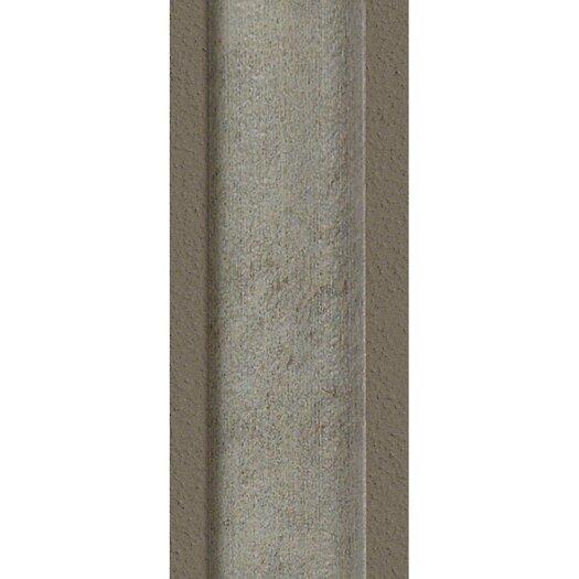 "Shaw Floors Metropolitan Slate 6"" x 1"" Outside Corner Tile Trim in Luna Park"