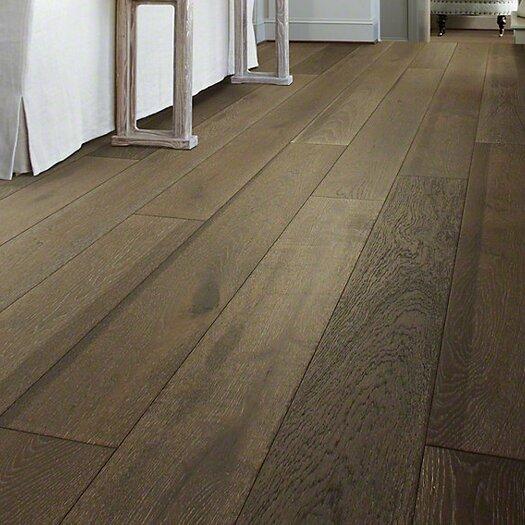 Shaw floors castlewood 7 1 2 engineered white oak for Shaw hardwood flooring