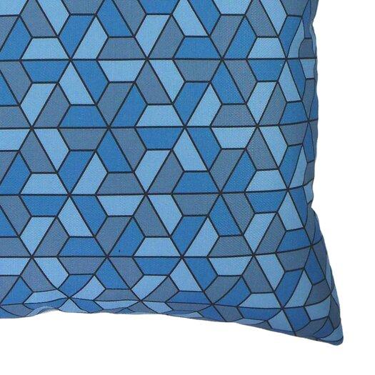 NECTARmodern Triangles Modern Graphic Throw Pillow AllModern