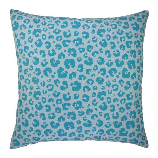 See Spot Run Modern Leopard Animal Print Graphic Throw Pillow