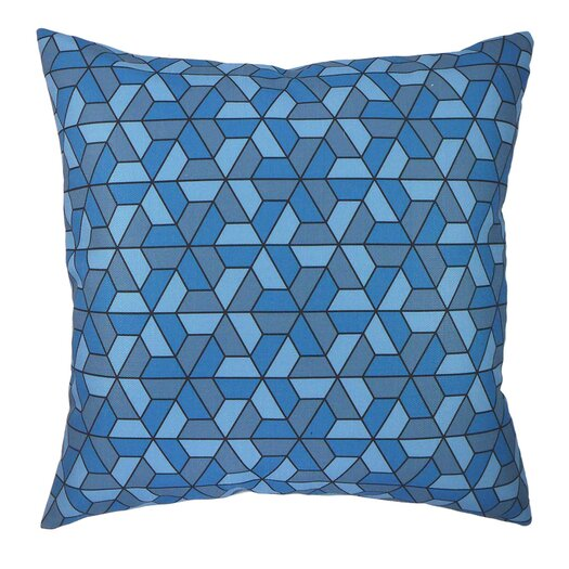 NECTARmodern Triangles Modern Graphic Throw Pillow AllModern