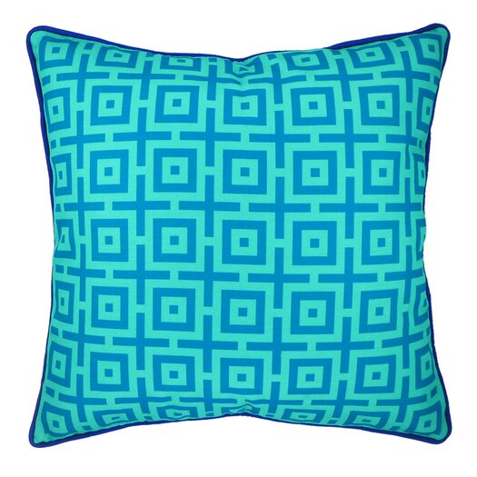 And in Summation Geometric Throw Pillow