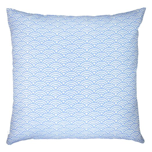 NECTARmodern Woodblock Scales Arches Graphic Throw Pillow
