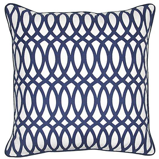 Kosas Home Ellipse Textile Cotton Throw Pillow