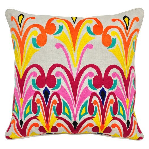 Kosas Home Fontaine Cotton Throw Pillow